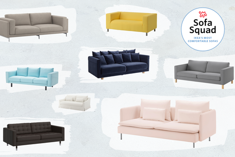 We Reviewed Ikea Sofas Irl These Are The Most Comfortable Ikea Sofa Ikea Sofa Reviews Comfortable Living Room Furniture