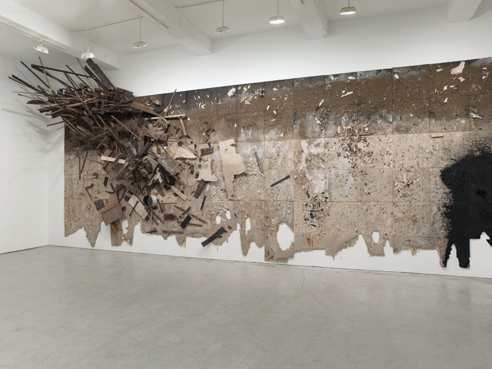 Fantastic Large Wall Sculptures And Installations By Leonardo Drew