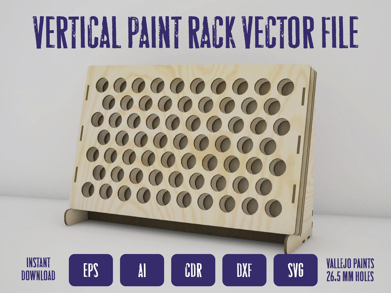 31++ Wooden craft paint storage rack ideas