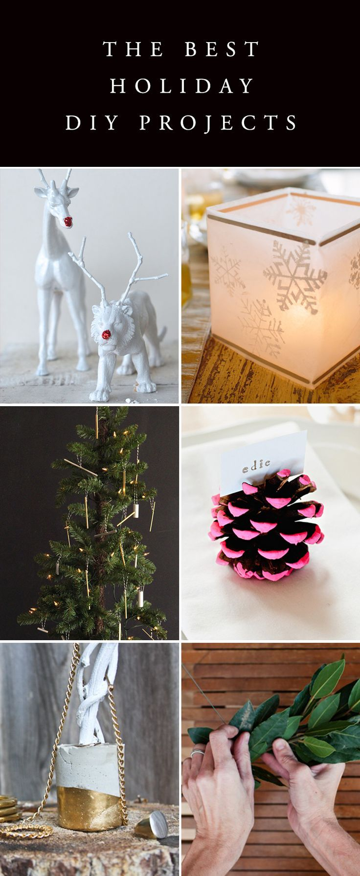 Tons of fun and easy Holiday DIY