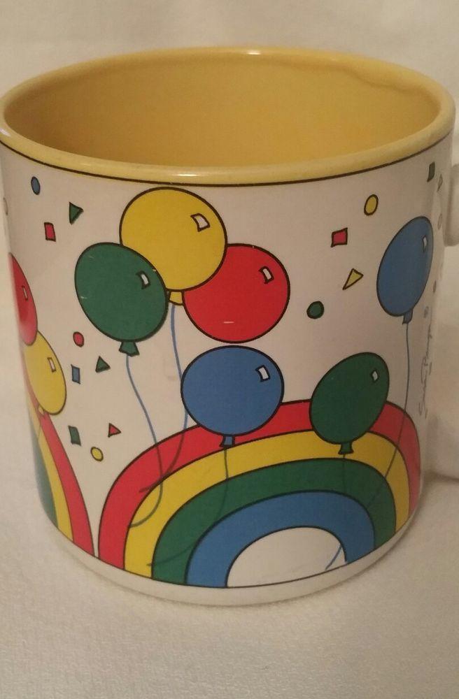 1991 Flower inc. Balloons #670400 Coffee Mug  | eBay