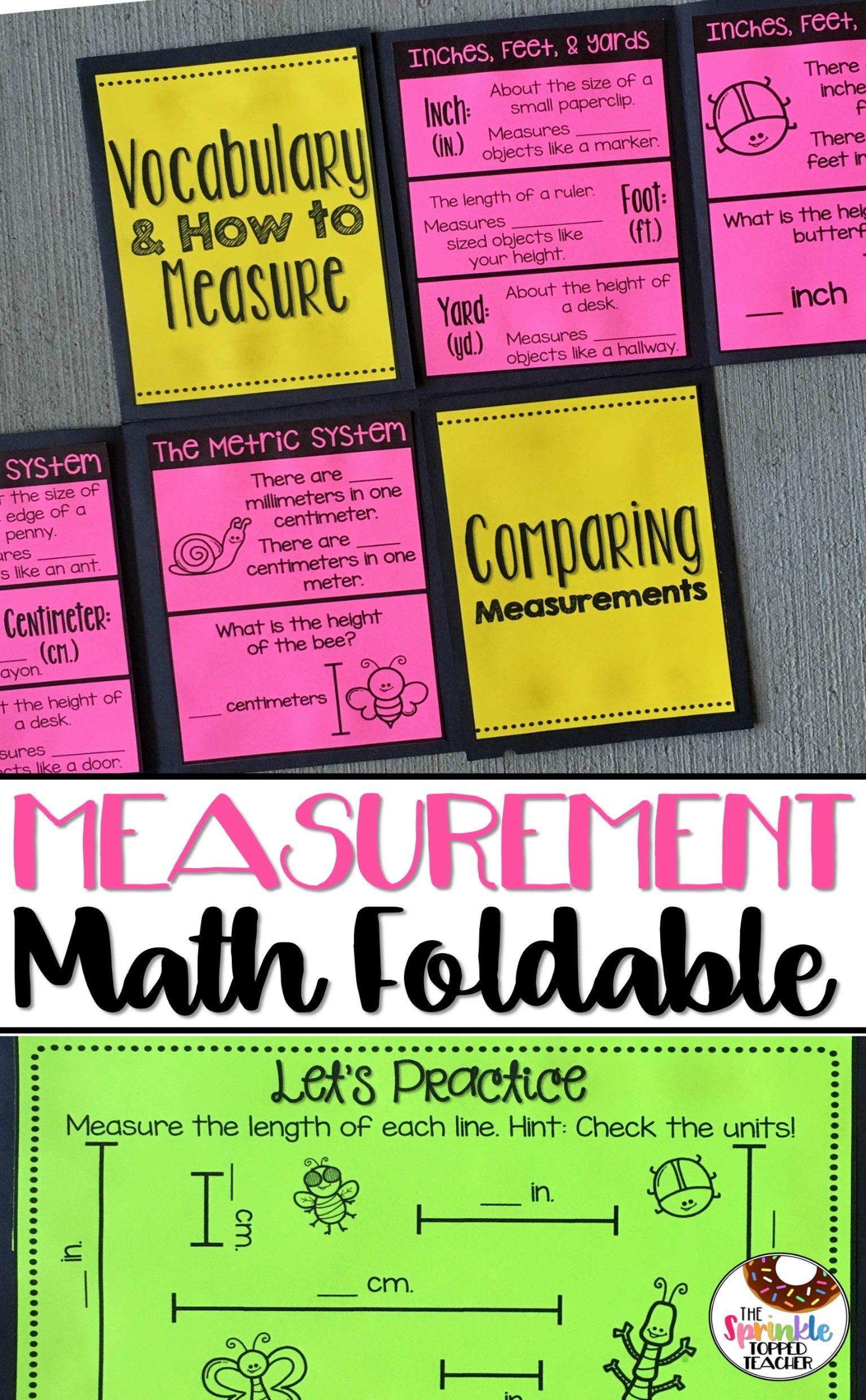 2nd Grade Measurement Activity
