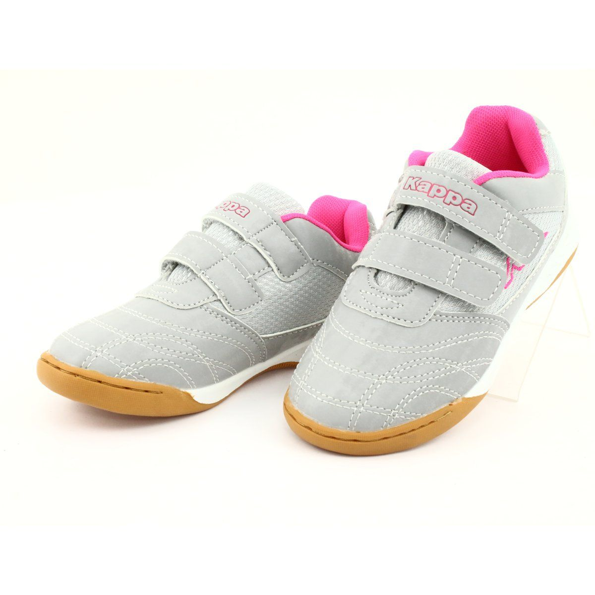 Kappa Kickoff Jr 260509k 1522 Shoes Pink Grey Kid Shoes Put On Your Shoes Shoes