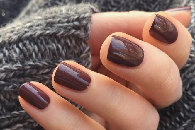 Colores De Uñas Otoño Invierno 2019 2020 9 Tendencias Ellas Hablan Colores De Uñas De Otoño Uñas Marrones Uñas Color Cafe