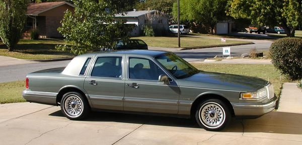 1997 Lincoln Town Car Whenthemgjustwontdo Registry The