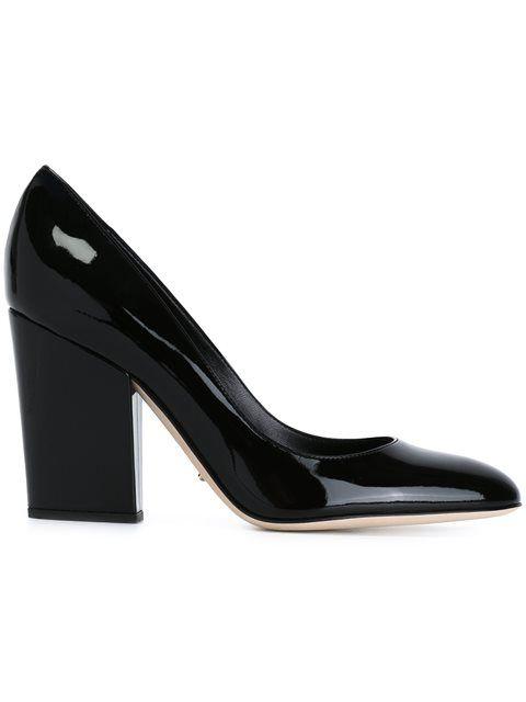 chunky heel pumps - Black Sergio Rossi 6SQ4aRIi1