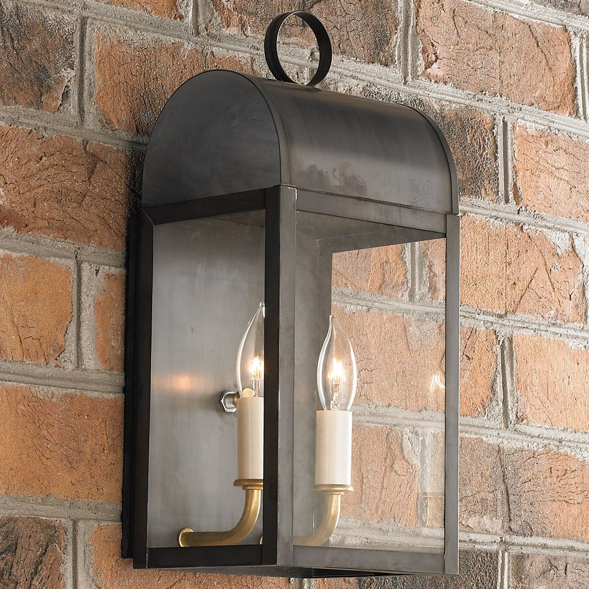 Arched outdoor light 2 light arch lights and hanover house arched outdoor light 2 light darkenedcopper aloadofball Images