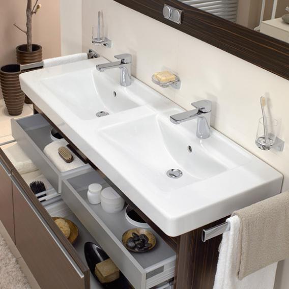 Villeroy & Boch Architectura Doppelwaschtisch weiß, mit
