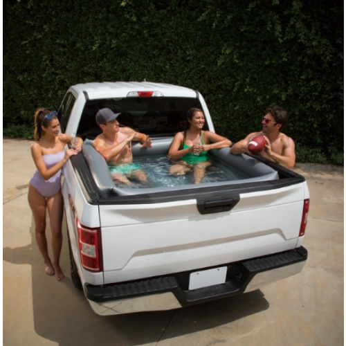 Summer Waves Inflatable Truck Bed Pool in 2020 Truck bed