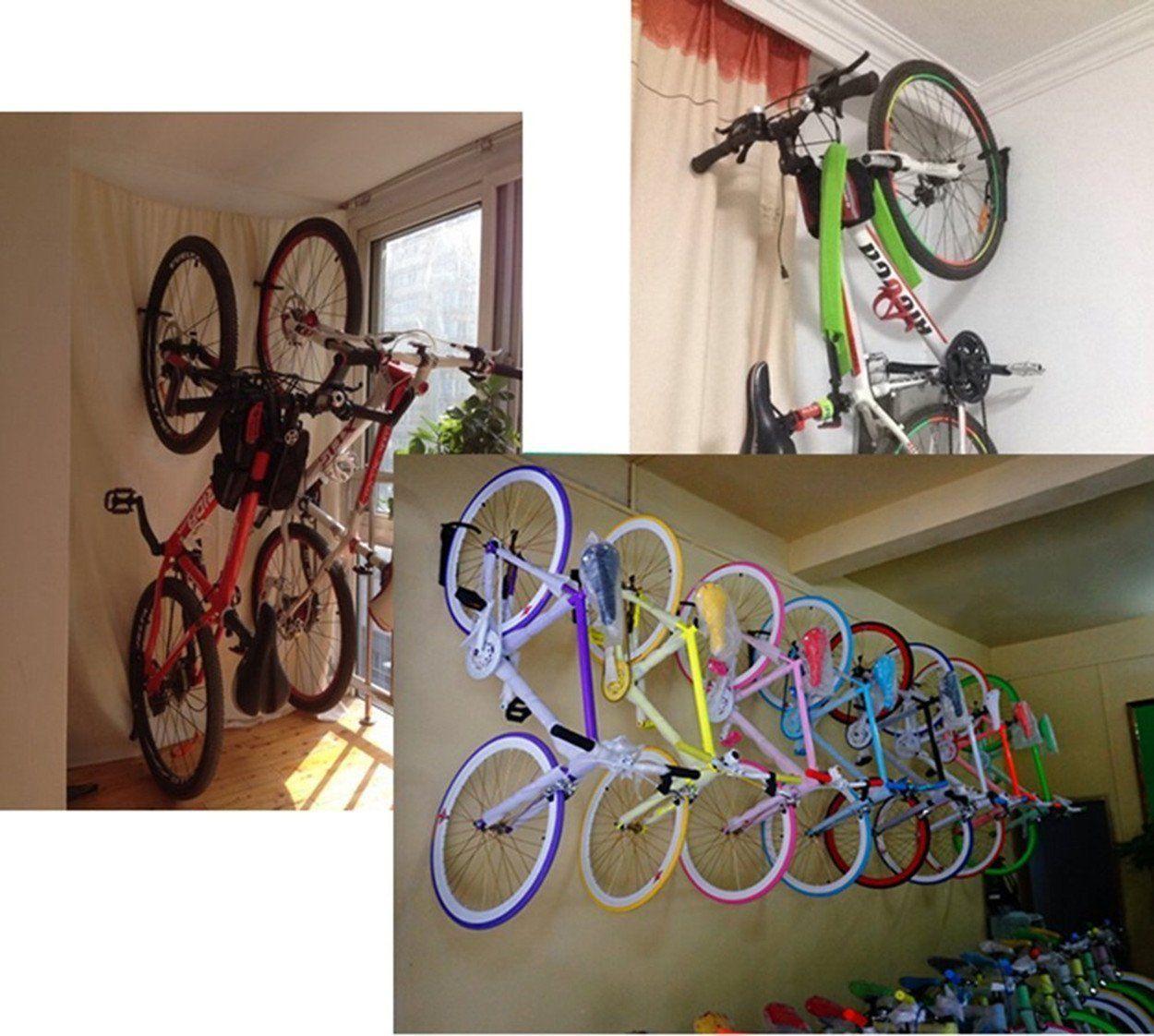 Bike Rack Hanger Wall Mount Bicycle Storage sack Single Hook For Garage Shed