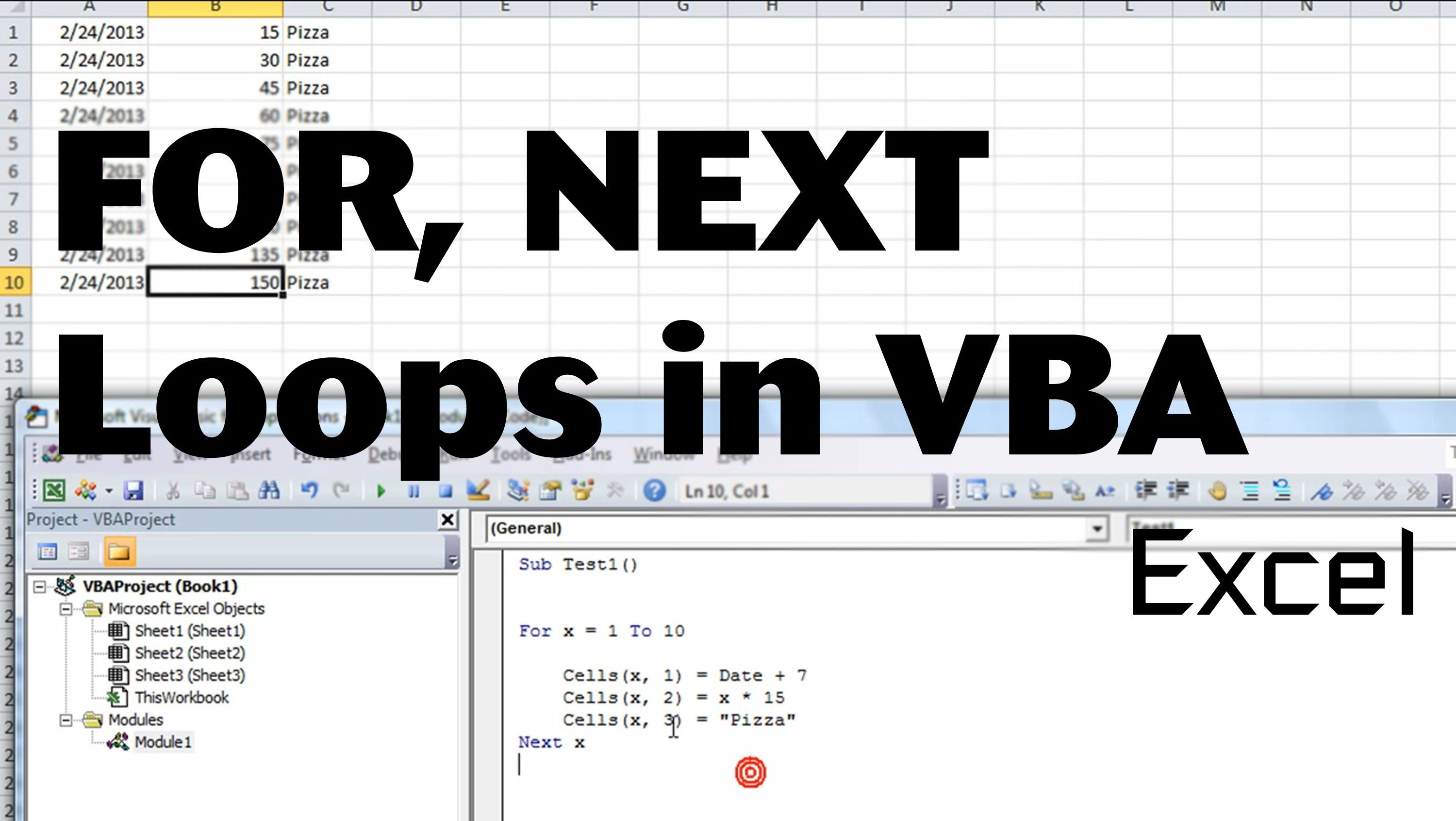 Excel Vba Basics 3