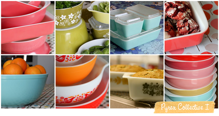 The Pyrex Collective. This blog is pretty awesome for all those Pyrex lovers out there.