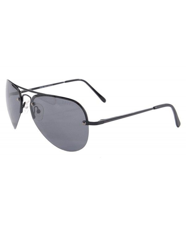 e607bc852e6 Classic Aviator Glasses for Men Dark Lens Polarized UV400 Sunglasses ...
