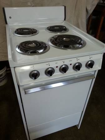 I have several apartment size kitchen stoves for sale