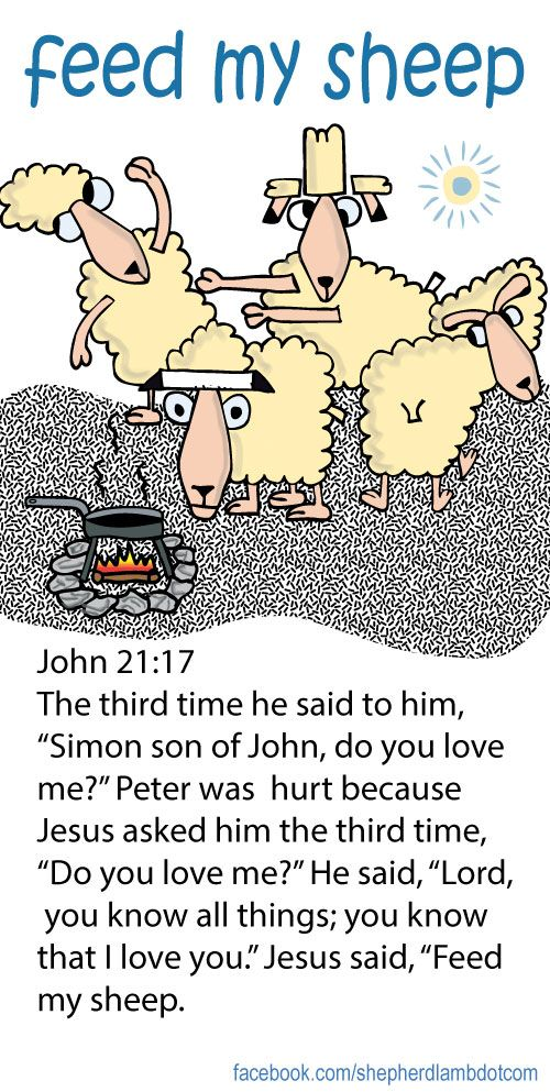 "John 2117 The third time he said ot him, ""Simon son of"