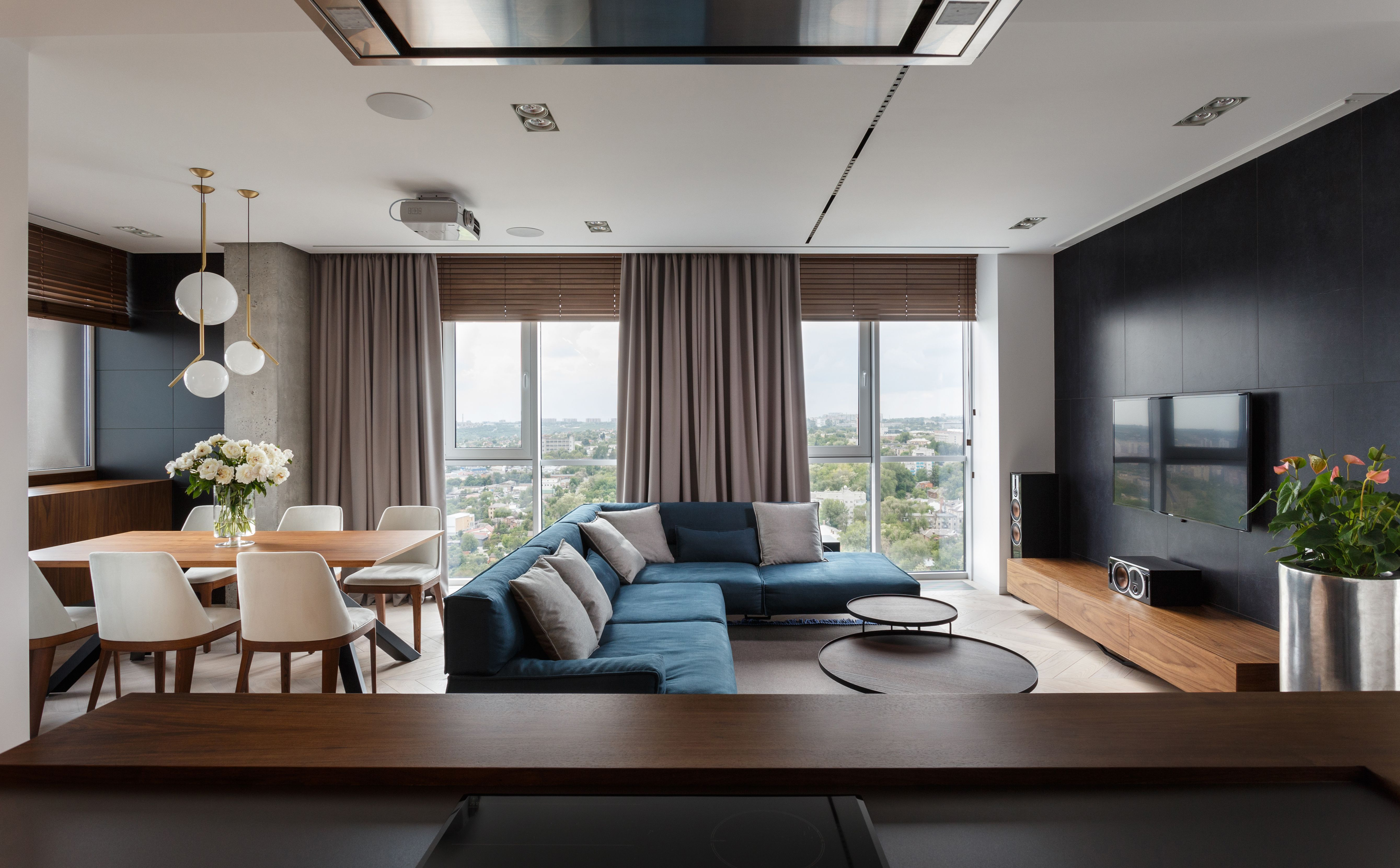 "Check out this @Behance project: ""River View apartment by SVOYA ..."
