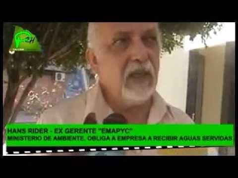 AGUAS SERVIDAS DEPOSITADAS EN YACUIBA POR ORDEN DE MINISTERIO MEDIOAMBIE...