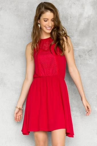 Della Halter Dress