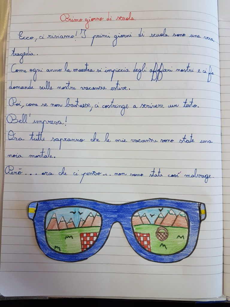 Classe 4a Diario Di Bordo Maestra Carmelina Primo Giorno Di Scuola Classe Terza Elementare Bentornato A Scuola