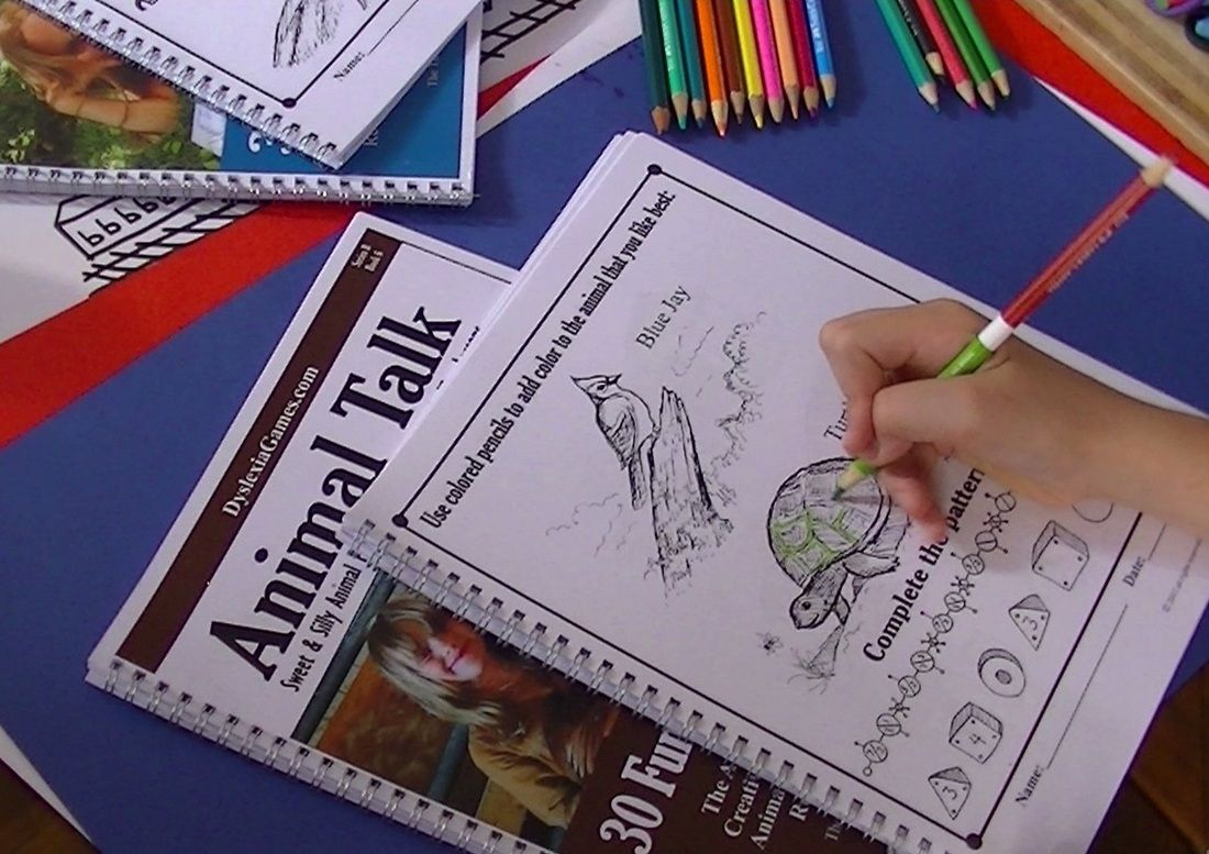 Dyslexiagames How To Use Drawing Art And Puzzles To
