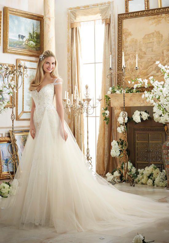 Mori Lee by Madeline Gardner 2894 Wedding Dress photo