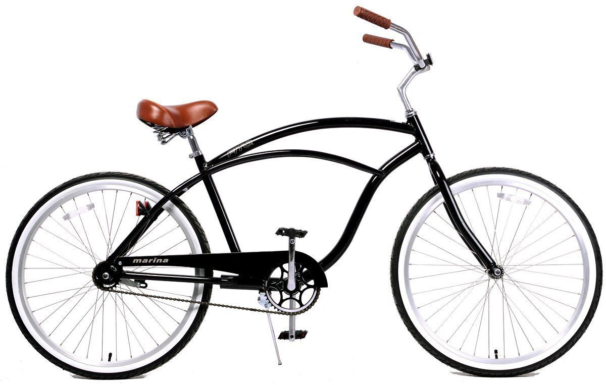 Fito Men\'s Marina Aluminum Alloy 1-Speed Beach Cruiser Bike | Beach ...