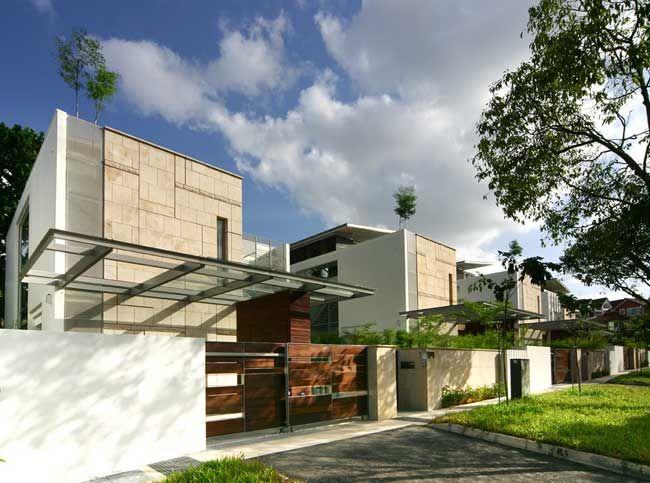 Elegant Tropical Architecture Modern Tropical Houses Singapore SG Good Ideas