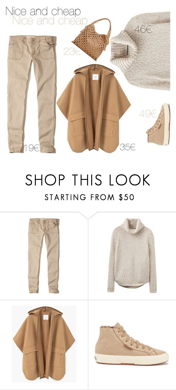 """Sin título #196"" by mfpblau ❤ liked on Polyvore featuring Hollister Co., Joules, MANGO and Superga"