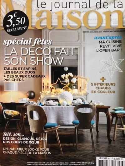 Paris au mois d\u0027août in the french magazine Le journal de la Maison