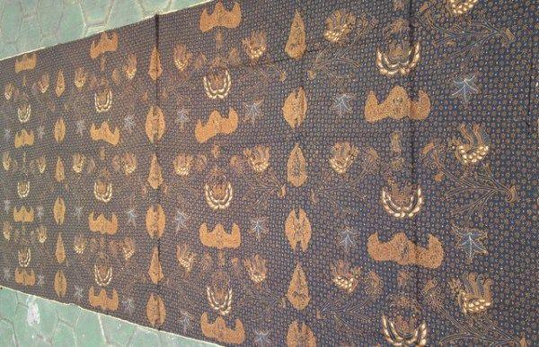 Gambar Batik Truntum Wahyu Tumurun Batik Tulis Batik Solo