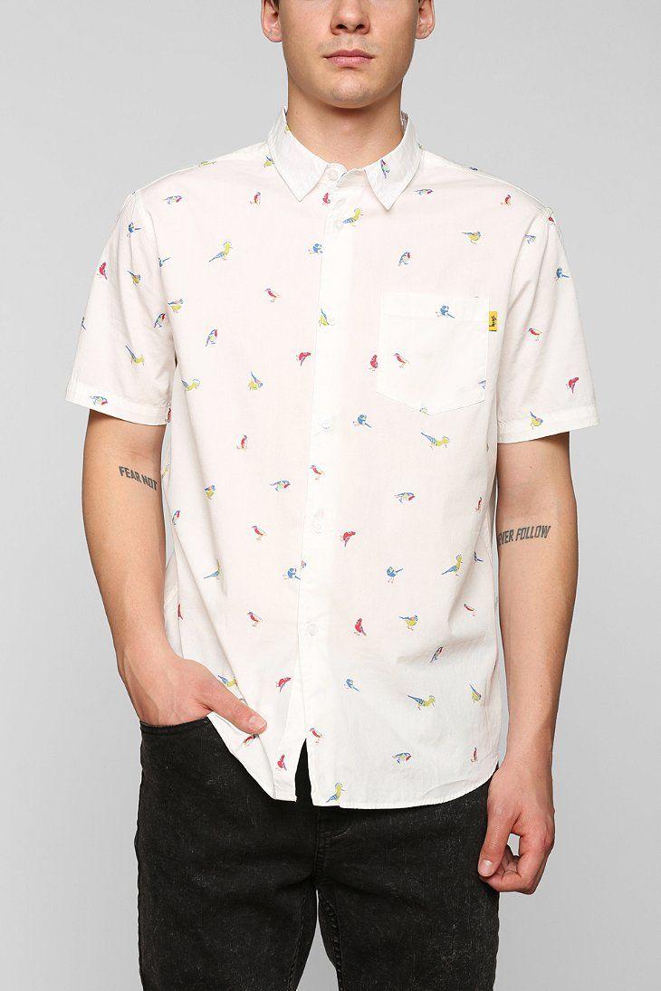 Stussy Birds Button-Down Shirt | Want List | Pinterest