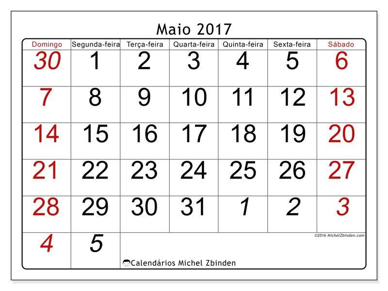 Livre Calendarios Para Maio 2017 Para Imprimir Calendario Julho