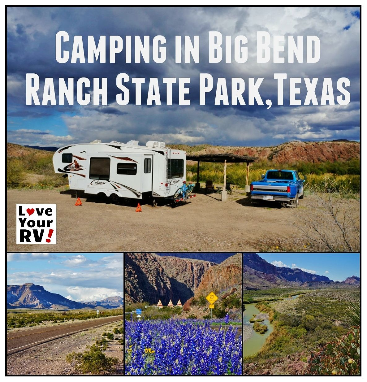 RVing Big Bend Ranch State Park in Texas | Travel Trailer