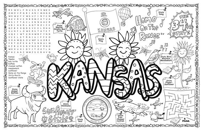 Pin By Lola Schultz On States State Symbols Kansas Kansas Day