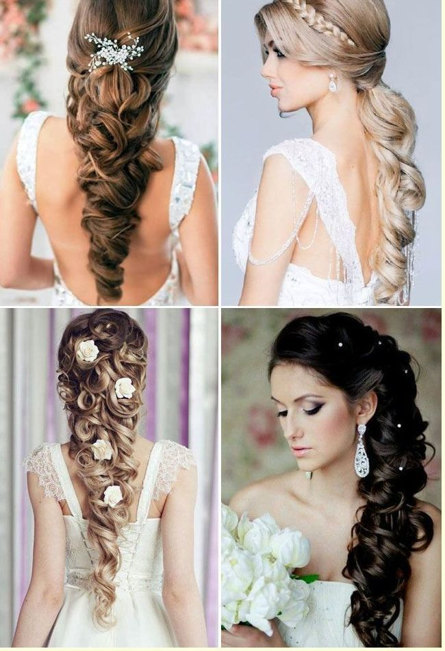 Bridal Hairstyles For Long Hair Wedding Hairstyles Pinterest