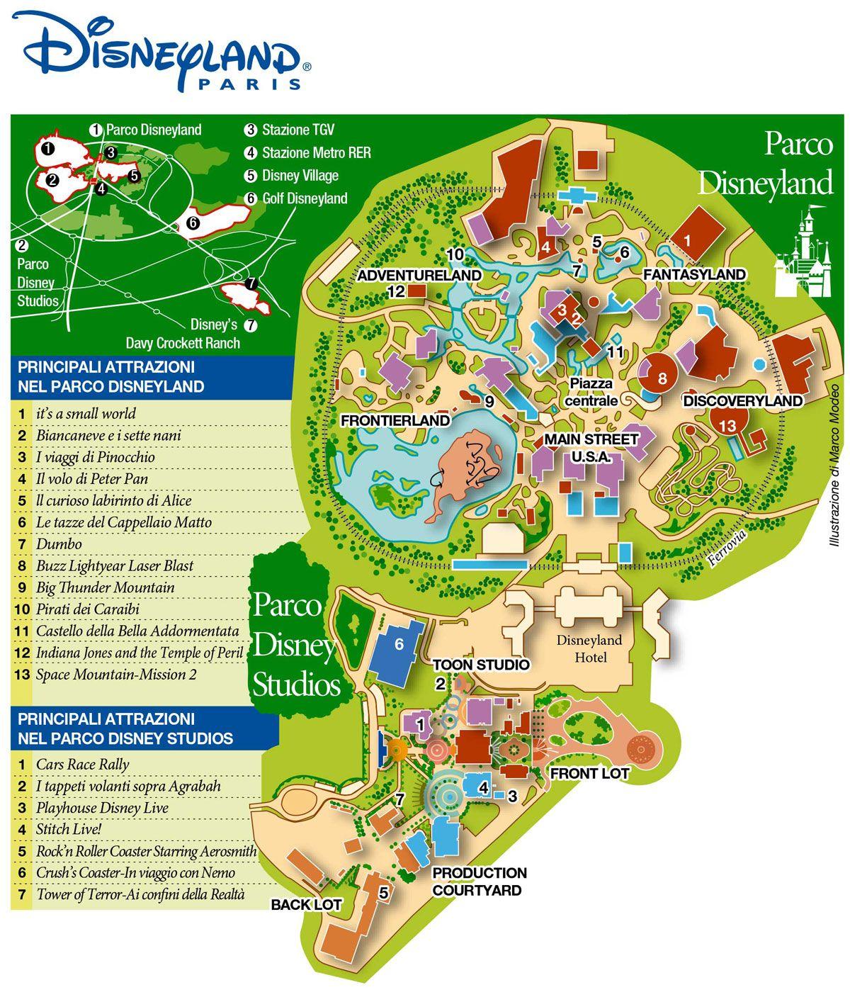 Disneyland paris map 2019 | Disneyland paris, Paris map, Disneyland