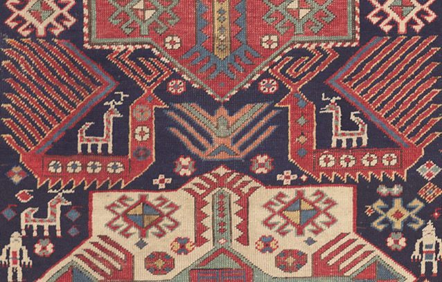 Symbolism And Tribal Cosmology In Antique Caucasian Rugs Part Ii Animals Birds Click To Read This Article By Claremont Rug Tribal Rug Rugs Rugs On Carpet