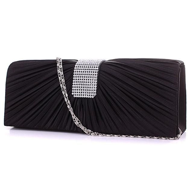 Women Smart Patent Leather Envelope Ladies Party Prom Wedding Bridal Clutch Bags