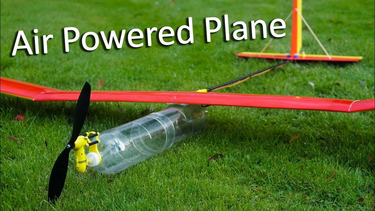 Compressed Air Powered Plane YouTube Compressed air