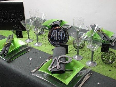 Id e d co de table pour anniversaire 3 b pinterest anniversaire femme anniversaires et - Deco table anniversaire femme ...