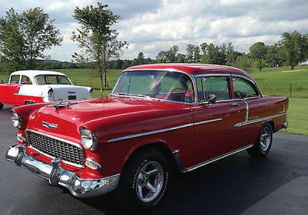 Chevrolet bel air 150 210 2 door sedan 1955 chevy belair for 1955 chevy 2 door sedan