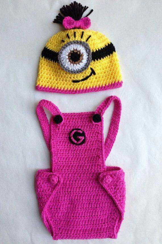 Baby minion...NO LINK TO PATTERN | Baby Projects To Try | Pinterest ...