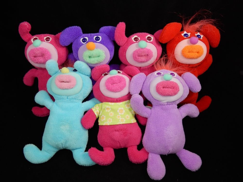 Fisher Price Sing A Ma Jigs Musical Plush Toys Lot Of 7