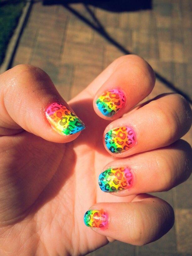 Rainbowpanterprint