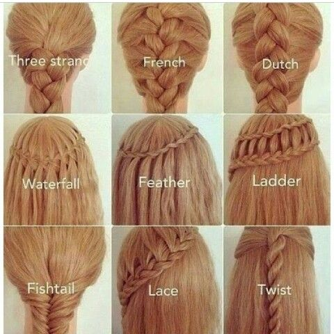 Types Of Cute Braids