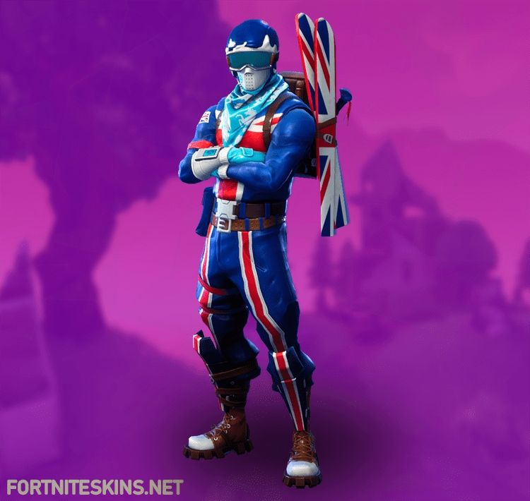 Zero Skin Fortnite Back Bling Fortnite Alpine Ace Gbr Outfits Fortnite Skins Di 2020