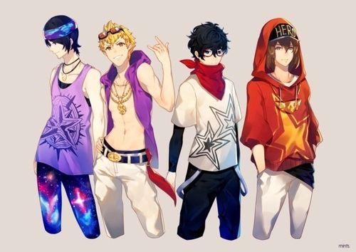 Image Result For Persona 5 Fanart Ryuji Persona 5 Persona