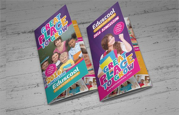 Sample-Preschool-Brochure-Template1jpg (600×386) Mine Your
