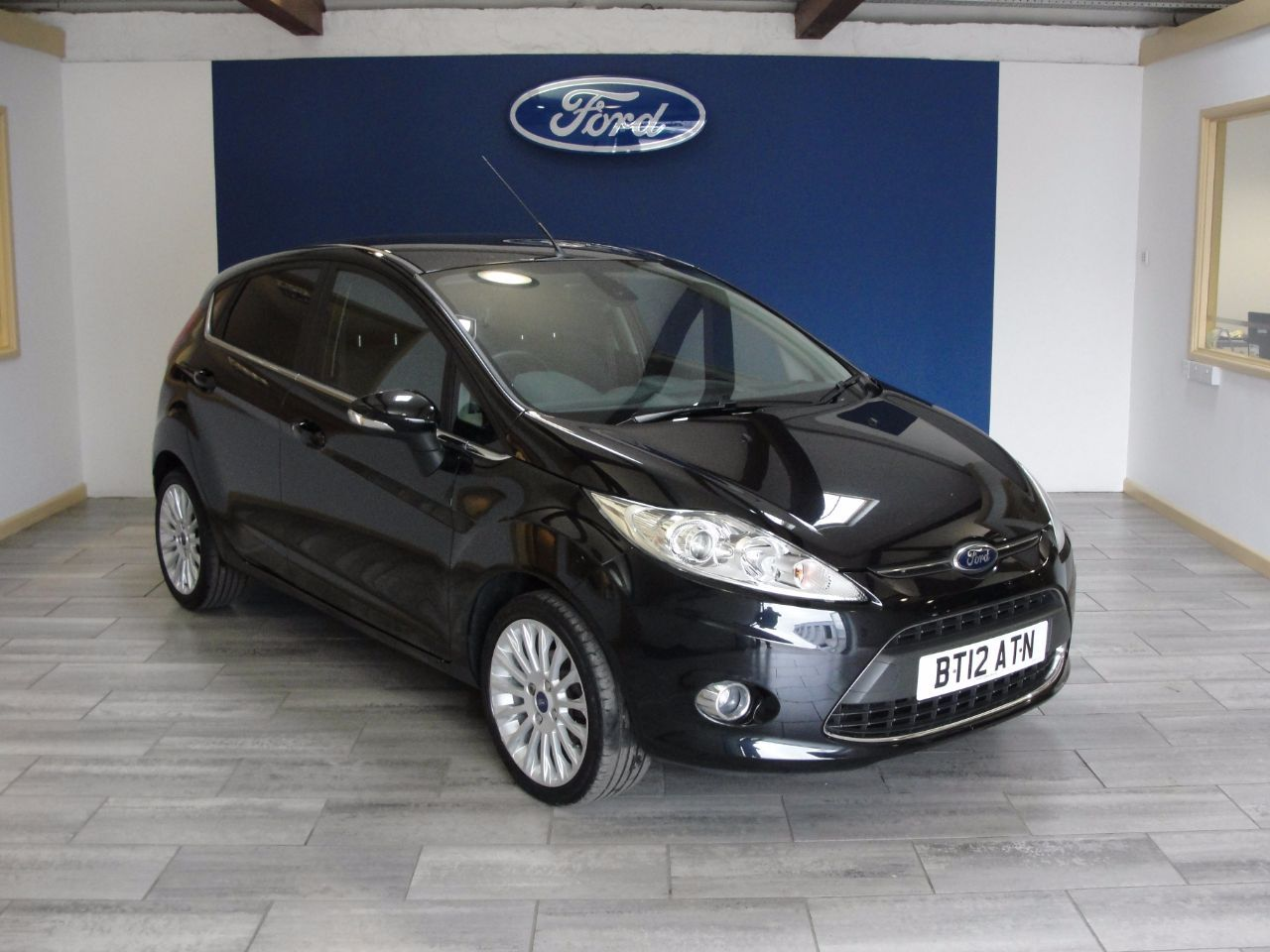 Second Hand Ford Fiesta 1 4 Titanium 5dr For Sale In Newton Abbot Devon Ford Used Ford Ford Fiesta