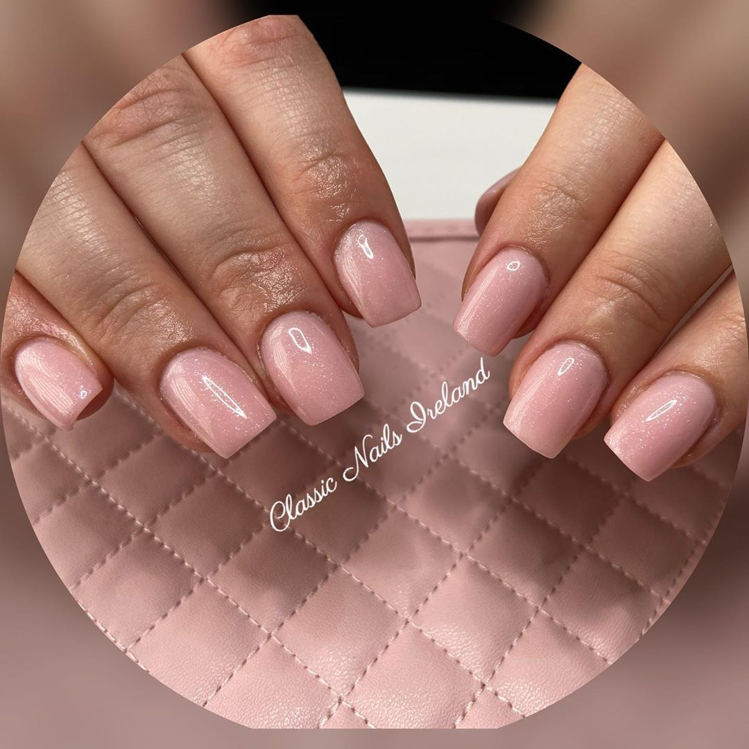 Nails One Think You Can Get Into Shape Without Exercise Classic Gelnails Ireland Nailfashion Simplicity Nails In 2020 Fashion Nails Gel Nails Glitter Nails